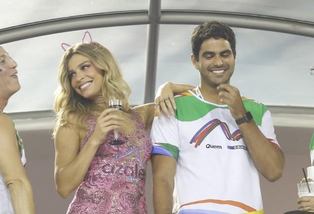Grazi com namorado (Foto: Marcos Serra Lima / Ego)