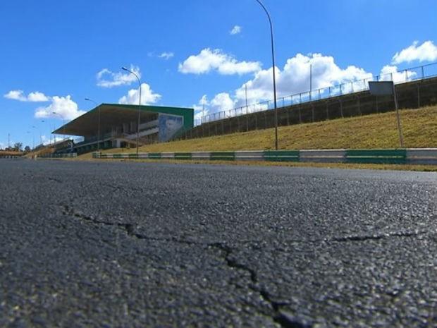 Pista do Autódromo Internacional Nelson Piquet, em Brasília (Foto: TV Globo/Reprodução)