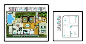 Planta de imóvel prevê recursos de automação residencial (Foto: Divulgação)