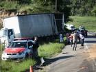 Carreta colide contra 11 veículos e deixa feridos em Pilar, diz PRF