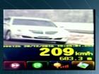 Motorista é flagrado a 209 km/h na BR-060, em Santo Antônio da Barra