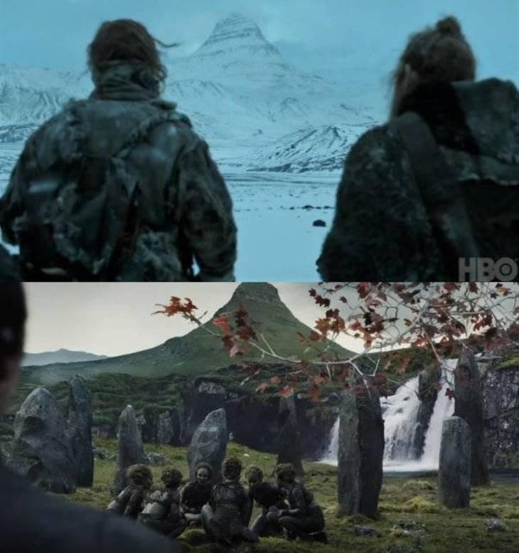 Montanha, Muralha, Game of Thrones (Foto: Reprodução/ HBO)