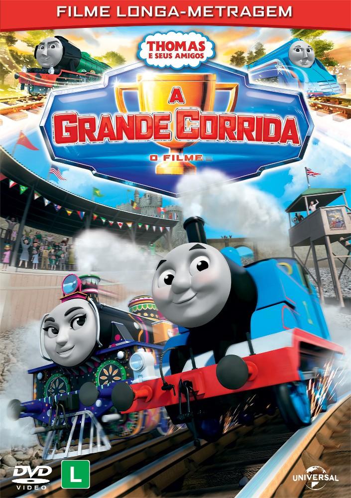 DVD Grande Corrida de Thomas e Seus Amigos (Foto: Divulgação)