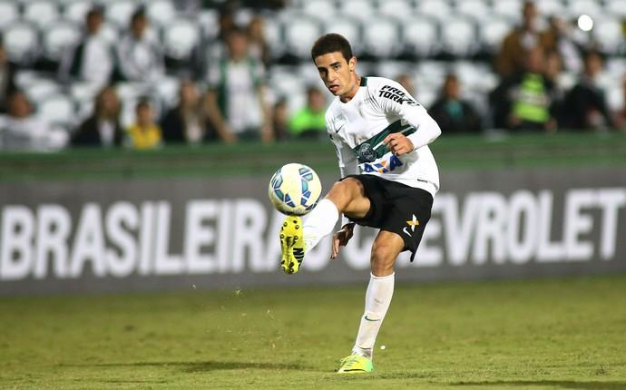 Thiago Galhardo Coritiba (Foto: Giuliano Gomes/PR PRESS)