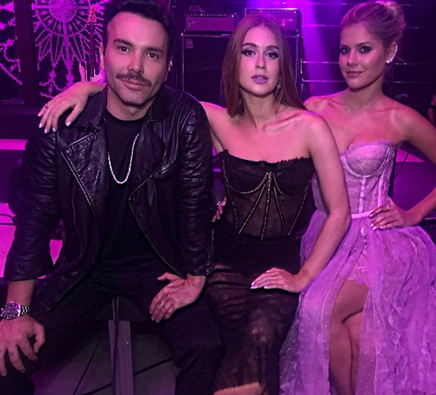 Matheus Mazzafera, Marina Ruy Barbosa e Lala Rudge (Foto: Reprodução / Instagram)