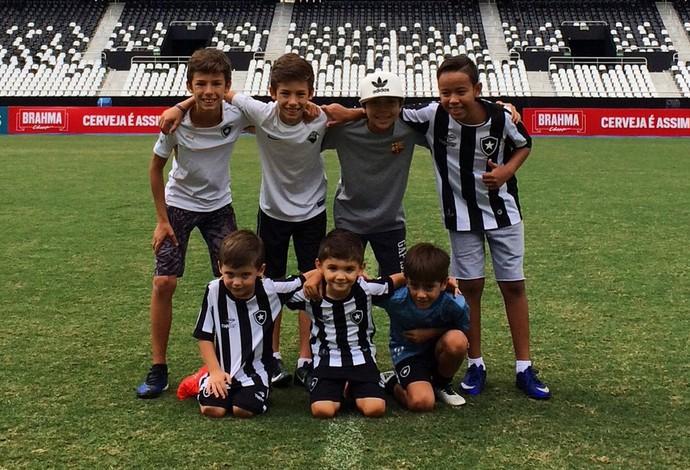 filhos, Botafogo (Foto: Divulgação / Botafogo)