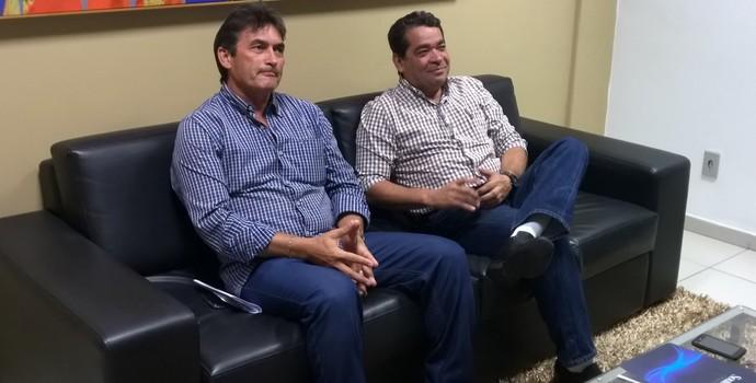 Amadeu Rodrigues, Federação Paraibana de Futebol, FPF, Nosman Barreiro (Foto: Larissa Keren / GloboEsporte.com/pb)