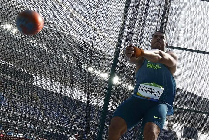 atletismo; lançamento de martelo; wagner domingos; montanha; brasil (Foto: Kai Pfaffenbach/Reuters)