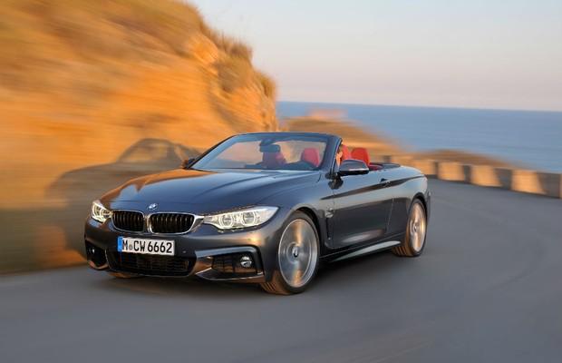 BMW Série 4 conversível (Foto: BMW)