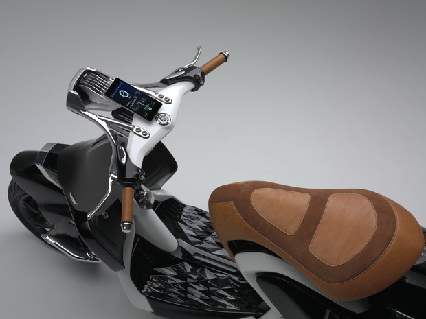 Yamaha 04GEN usa smartphone como painel (Foto: Divulgação)