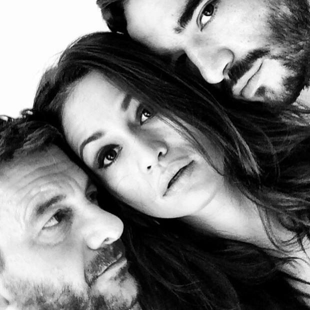 Roberto Birindelli, Nanda Costa e Caio Blat (Foto: Instagram)