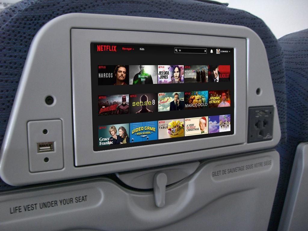 Netflix no avião? Em breve, talvez (Foto: Wikimedia Commons/Leandro Marto)