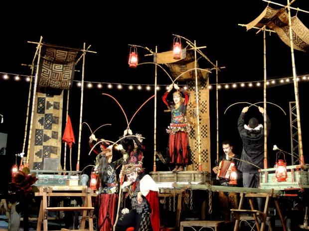 """Belém é a terceira cidade a receber o grupo de teatro nordestino """"Clowns de Shakespeare"""" (Foto: Divulgação)"""