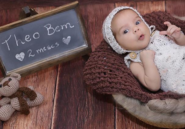 Theo Bem, filho de Barbara Borges (Foto: Reprodução/Instagram)