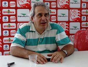 Toninho Monteiro, vice-presidente de Futebol do Náutico (Foto: Pedro Costa)