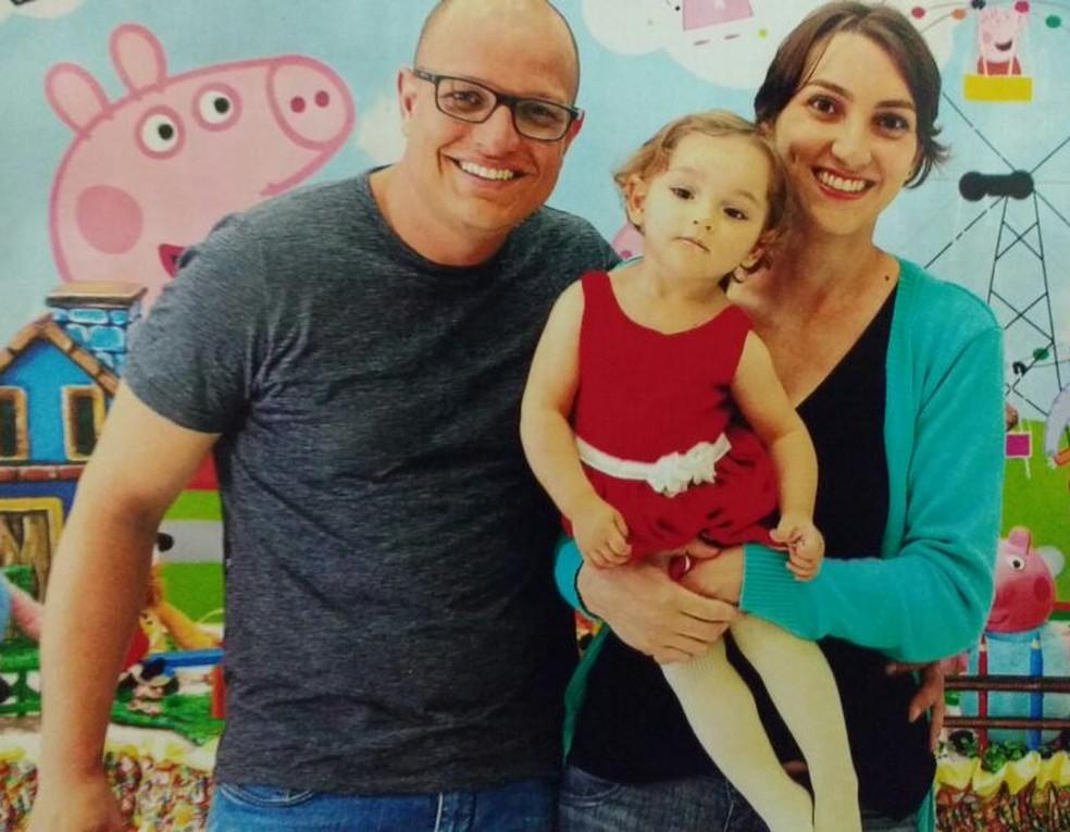 Família de Elena tem recebido ajuda de amigos e até desconhecidos (Foto: Arquivo Pessoal)
