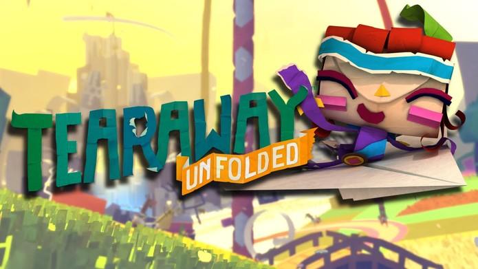 Tearaway Unfolded pode ser o presente ideal para quem já tem PS4 (Foto: Divulgação/PlayStation)