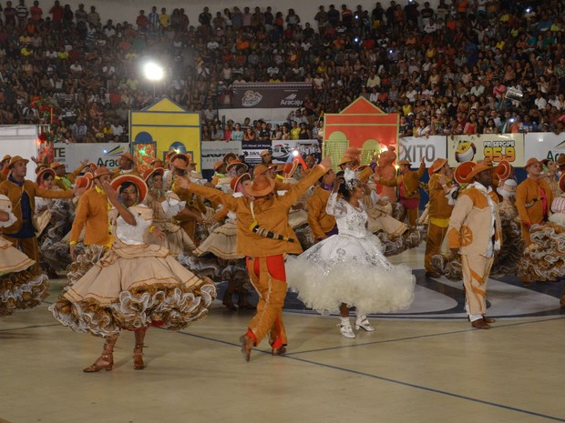 Pioneiros da Roça tem 28 anos de tradição e conta com 80 componentes  (Foto: Tássio Andrade/G1)