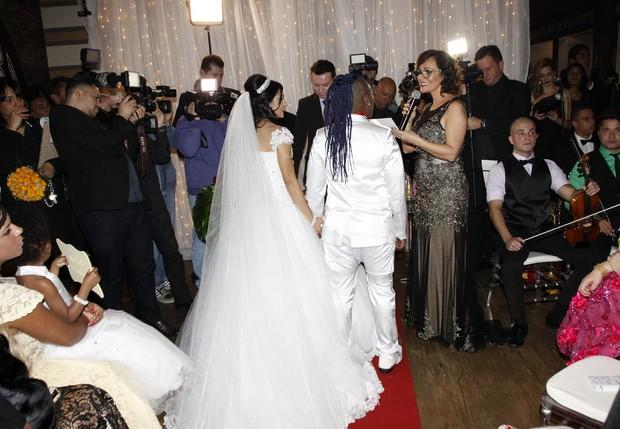 Casamento de Pepê e Thalyta Santos (Foto: Celso Tavares/EGO)