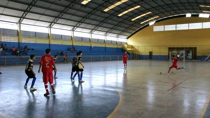 Futsal Sub-15 em Porto Velho (Foto: Jheniffer Núbia)