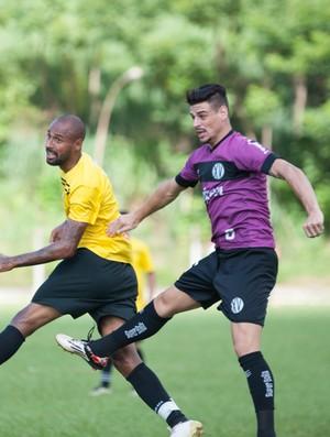 Rio branco-SP x XV de Piracicaba jogo-treino Cunha (Foto: Sanderson Barbarini / Foco no Esporte)