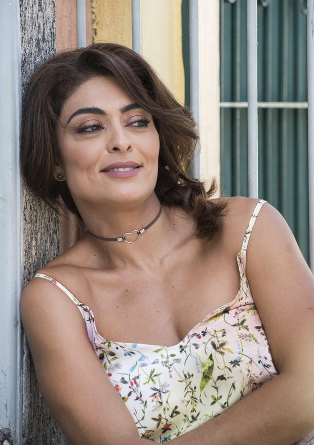 Bibi, a personagem de Juliana Paes, em A Força do Querer (Foto: Divulgação)