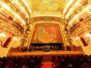 Série Guaraná inicia temporada de música clássica no Teatro Amazonas (Foto: Iberê Thenório / G1)