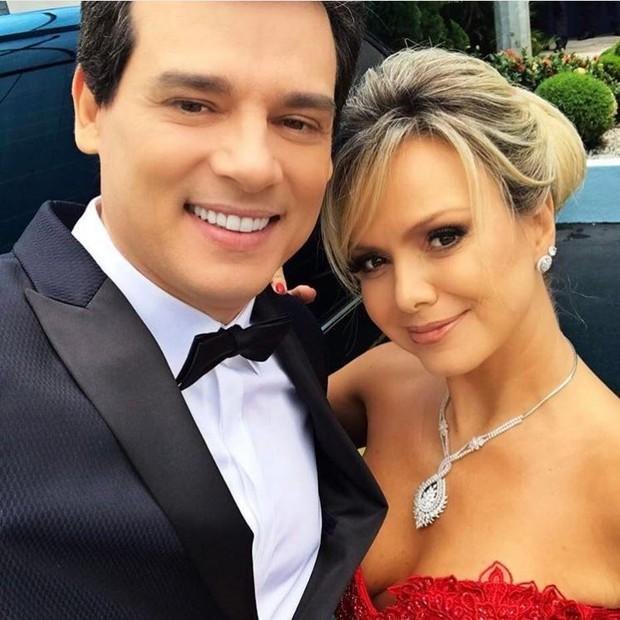 Celso Portiolli e Eliana (Foto: Reprodução/Instagram)