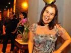 'Os médicos me liberaram para fazer  tudo', diz Cláudia Rodrigues