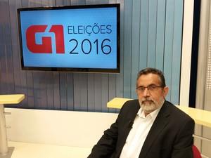 Gilvam Borges, candidato do PMDB à prefeitura de Macapá (Foto: John Pacheco/G1)