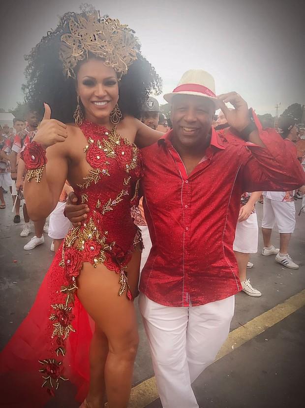 Simone Sampaio e Aílton Graça (Foto: Arquivo Pessoal)