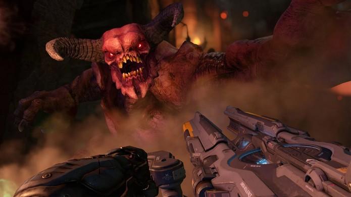 Novo Doom revela os requisitos mínimos para enfrentar as forças do inferno no seu PC (Foto: Reprodução/Metro)