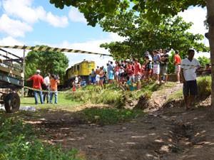 Adolescente é assassinado na Grande João Pessoa  (Foto: Walter Paparazzo/G1)
