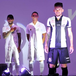 Lançamento do uniforme do Santos (Foto: Ivan Storti/Santos FC)