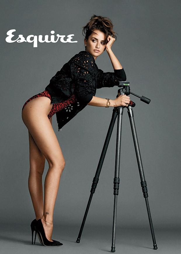 Penelope Cruz (Foto: Reprodução/Revista Esquire)