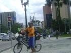 Em busca de recorde, ciclista do AM faz parada especial em Curitiba