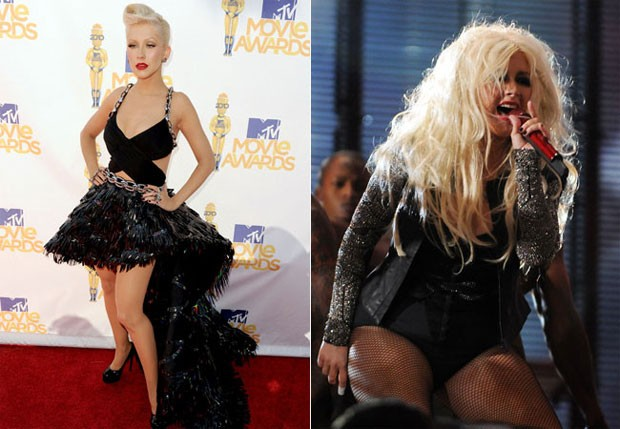 Christina Aguilera (Foto: Getty Images e Grosby Group)