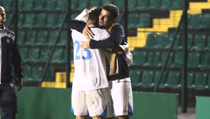 Renan Oliveira Avaí gol Figueirense (Foto: Jamira Furlani/Avaí FC)