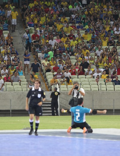 Brasil x Portugal - amistoso desafio futsal castelão - thiago (Foto: Zerosa Filho/CBFS)