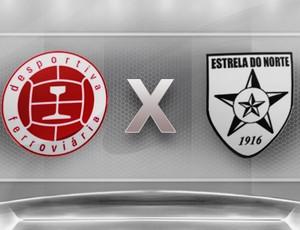 Campeonato Capixaba Série B 2012: Desportiva Ferroviária x Estrela do Norte (Foto: Globoesporte.com)