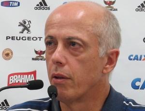Wallim Flamengo coletiva (Foto: Thales Soares)