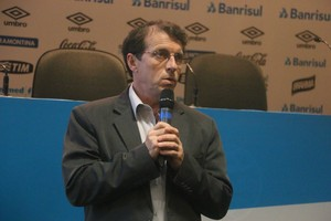 odorico roman vice-presidente grêmio (Foto: Eduardo Moura/GloboEsporte.com)