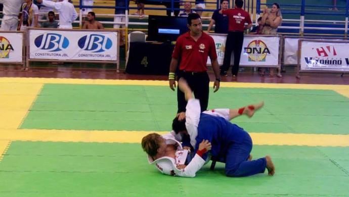Lutador Caruaru jiu-jitsu (Foto: Rhenan Henrique / Arquivo Pessoal)