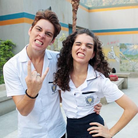 João Vithor Oliveira e Julia Konrad  (Foto: Bel Bonotto)