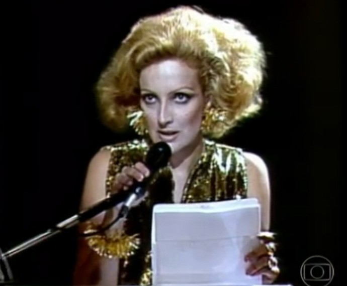 Betty Lago em Sex Appeal, em 1993 (Foto: TV Globo)