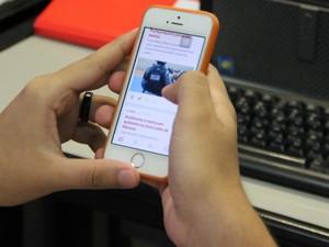 Usuário poderá solicitar bloqueio de celular roubado quando registrar boletim de ocorrência (Foto: Suelen Gonçalves/ G1 AM)