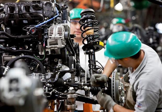Produção industrial; PIB; Produto Interno Bruto; indústria; mão-de-obra; emprego; (Foto: Divulgação)