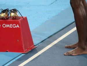 atletismo Usain Bolt sapatilha