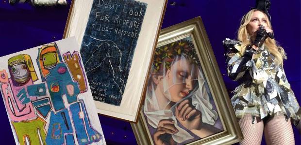 A coleção de arte de Madonna (Foto: Casa Vogue)