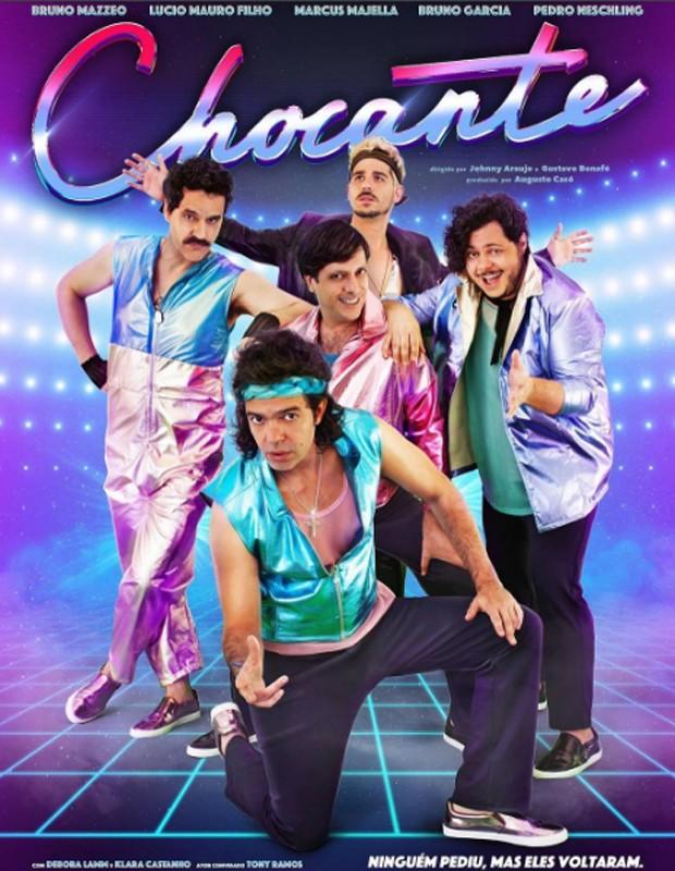 Cartaz do filme 'Chocante' (Foto: Reprodução/Instagram)